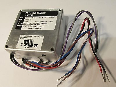 Martek- Eaton Ps2565-y-102 Led Light Driverpower Supply 100-250vdc 90-277vac