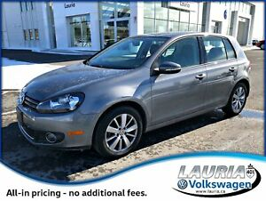 2012 Volkswagen Golf 2.0 TDI Trendline Auto - Heated seats / Low