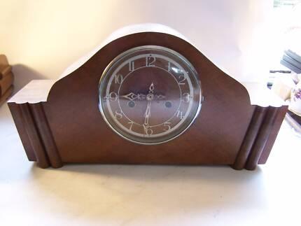 Art Deco Mantle Clock CAN POST Enfield Mechanism