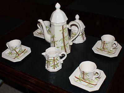 Servizio da caffè stile liberty - firmato e datato 1914