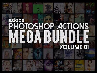 Adobe Photoshop Actions Mega Bundle