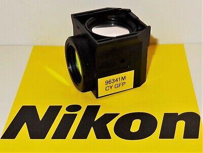 Nikon Cyan Bv Fluorescent Microscope Filter Cube For 50i 80i Te20003000