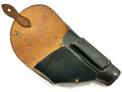 VINTAGE 1979 MILITARY HOLSTER P64 PISTOL BLACK LEATHER POLISH P22 WALTHER PPK, used for sale  Poland