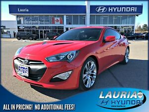 2015 Hyundai Genesis Coupe 3.8 R-Spec - Low kms
