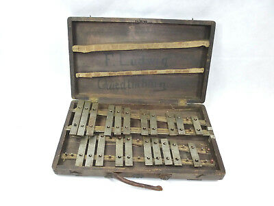 OLD XYLOPHONE Um 1900 for Ludwig Quedlinburg