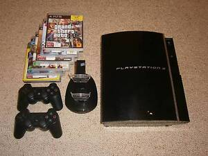 PS3 Console With Controllers And Games Applecross Melville Area Preview