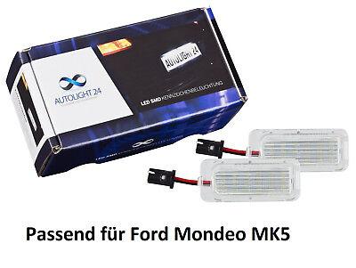 Premium LED Kennzeichenbeleuchtung für Ford Mondeo MK5 KB8