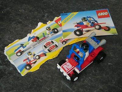 KOMPLETT mit OBA Lego® 6528 Legoland Dünenbuggy LEGO Bau- & Konstruktionsspielzeug