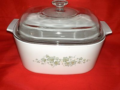 Corning Ware Green Ivy Callaway Casserole Dish With Lid 5 Qt. Dutch Oven Corelle