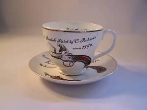 Royal Kensington Huge Tea Cup & Saucer  Flintlock Pistol Wynyard Waratah Area Preview