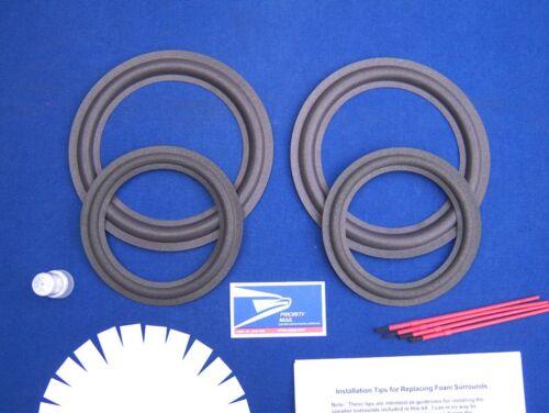 Genesis 2 / Model II / 2+ / 3 / Model III / 3+ Speaker Foam Surround Repair Kit