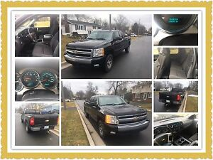2008 Silverado ext cab LT 4x4 8ft  long box