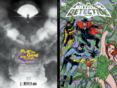DETECTIVE COMICS 1027 Exclusive Variant in hand NM Mike Allred Batman 9.8?