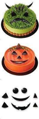 Pumpkin Face Creation Cake Topper Kit Halloween Monster Ghost - Halloween Cakes Pumpkin