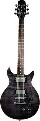 Hamer Archtop Electric Guitar, Transparent Black SATF-TBK w/Case MUST GO SALE!