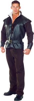 Morris Costumes Men's Medieval Huntsman Vinyl Complete Costume One Size. UR29439