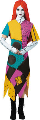 Nightmare Before Christmas Sally Adult Plus Size Women's Halloween Costume.DG568