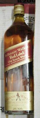 """""""Jonnie Walker""""-Old Scotch Whiskey 1Ltr-angeschafft wohl in den 80er/90er Jahren"""