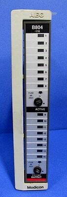 AEG MODICON 115VAC OUTPUT MODULE AS-B804-116 *PZF* 115 Vac Output Module