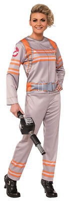 Morris Costumes Women's Long Sleeve Ghostbusters Jumpsuit L. RU820120LG
