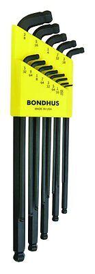 Bondhus 67037 13 Pc. L-wrench Stubby Double Ball End