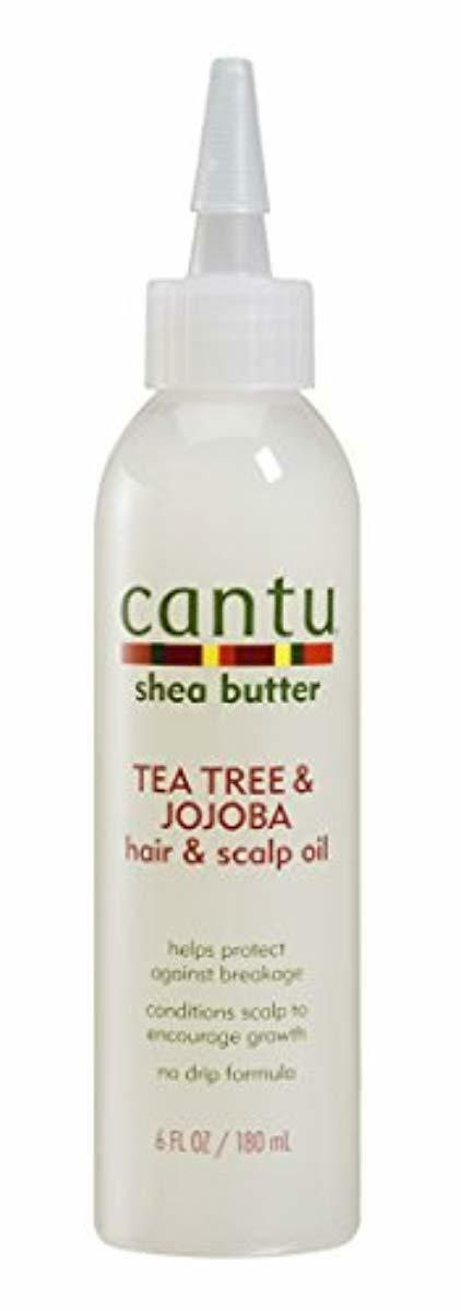 Cantu Shea Butter Tea Tree & Jojoba Hair & Scalp Oil, 6 fl o