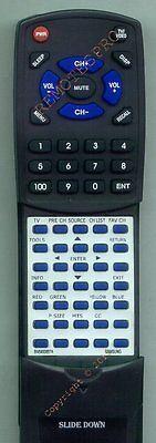 Replacement Remote For Samsung Ln19b360c5d, Ln26b460b, Ln...