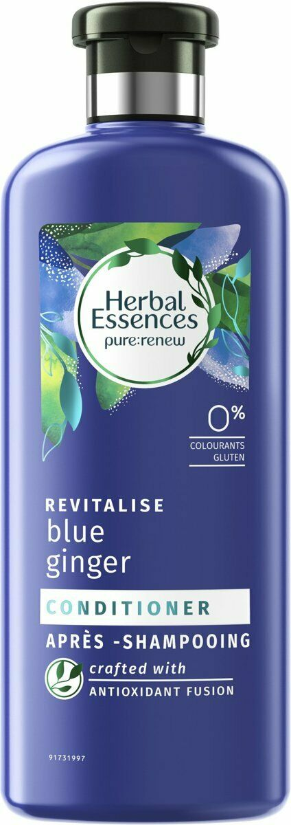 Herbal Essences pure:renew Revitalise Conditioner - Blue Ginger - 400ml