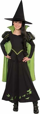 Girls Wicked Witch of the West Costume Wizard of Oz Child Size Medium 8-10 (Wicked Witch Of The West Costume Child)
