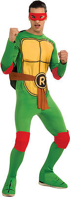 Raphael Costume for Adults Teenage Mutant Ninja Turtles New by  Rubies 887250 (Teenage Mutant Ninja Turtle Costumes For Adults)