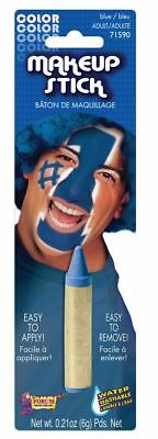 BLUE STICK MAKEUP Sport School Spirit Cheerleader Parade Team Face Painting - Team Spirit Face Paint