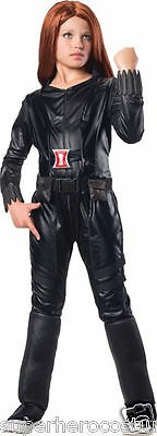 Black Widow Winter Soldier Costume (Captain America Winter Soldier Black Widow Child Costume LG 12-14 620044)