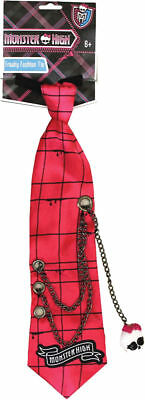 Morris Costumes Boys Monster High Freaky Fashion Clip On Tie One Size. XS12137](Boy Monster High Costumes)