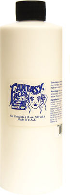 Morris Costumes Morris Air Brush Makeup White 16 OZ. FPA136 - Halloween Airbrush Makeup