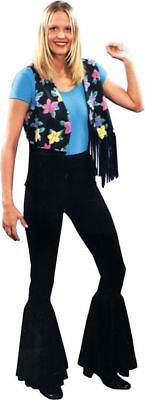 Morris Costumes Women's Retro 1970S Stretch Bell-Bottom Pant One Size. AC58](1970 Halloween Costumes/women)