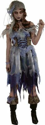 Women Pirate Outfits (Morris Costumes Adult Women's Pirate Zombie Complete Outfit One Size.)