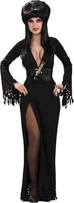 Morris Costumes Women's Tv & Movie Characters Elvira Deluxe Dress S. (Elvira Deluxe Kostüme)