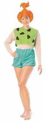 Pebbles Costume For Baby (The Flintstones Baby Pebbles Cartoon Adult Halloween Costume Licensed)