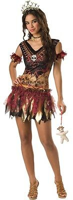 Teenage Mädchen 4 PC Voodoo Halloween Party Kostüm Kleid Outfit 14-18 Jahre