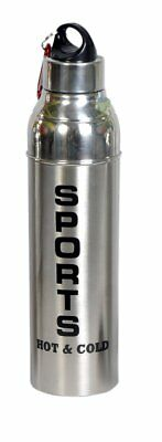 Used, Dynore Stainless Steel Insulated Hot and Cold Water Bottle, 1 Liter, Silver for sale  Shipping to Canada