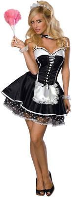 Morris Costumes Women's Sleeveless Classic French Maid Costume S. RU888527SM (Classic French Maid Costume)