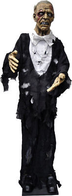 Morris Costumes Standing Old Man Light Up Eyes People Large Decorations & - Halloween Costumes Old People