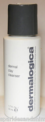 Dermalogica DERMAL CLAY CLEANSER 50ml Face Wash For Oily Skin TRAVEL SIZE