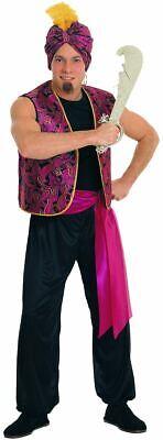 Sultan Arabischer Genie Herren Erwachsene Halloween Kostüm