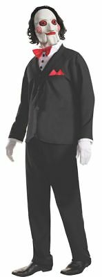 Rubies Saw Billy the Puppet Mask Jigsaw Adult Mens Halloween Costume 810980