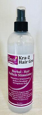 Nzuri Herbal Hair Follicle Growth Stimulator - 8 Ounce bottle
