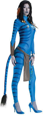 Morris Costumes Women's Tv & Movie Characters Avatar Costume L. RU889807LG](Movie Character Costumes Female)