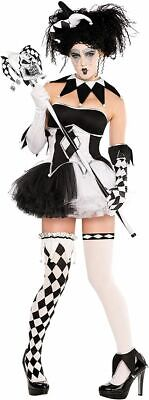 Christy's Tricksterina Clown Damen Kostüm Gr. 40/42 (L) Large Fashing Halloween