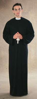 Rubies Priest Pope Catholic Church Religion Adult Mens Halloween Costume 15881 - Catholic Priest Costume