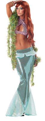 Sexy Ariel Mesmerizing Mermaid Adult Halloween Costume - Adult Ariel Halloween Costumes